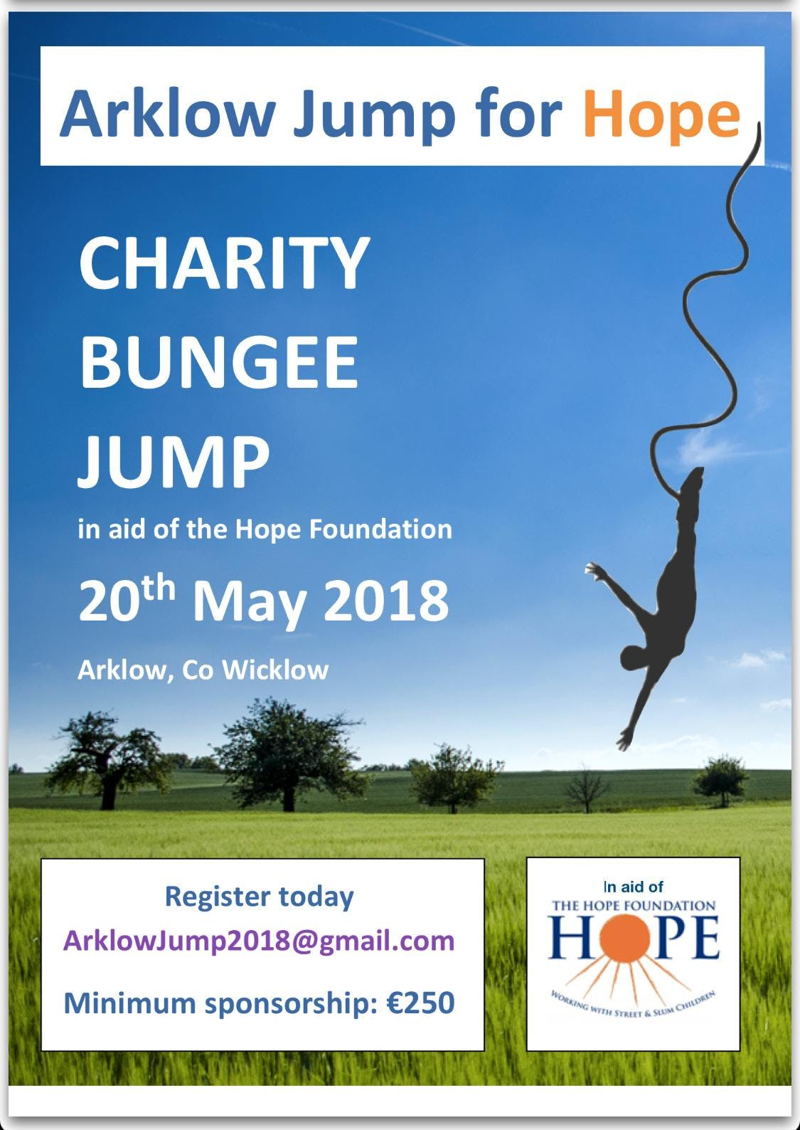Bungee Jump - Arklow Jump for Hope