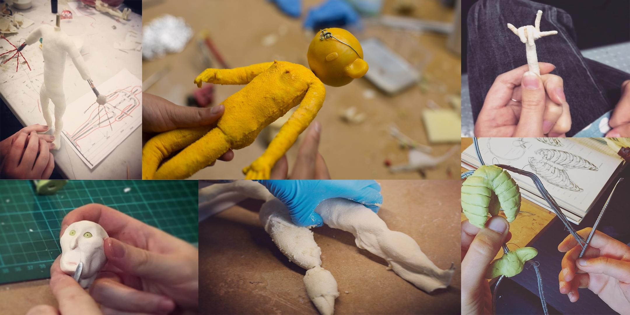 2 Day Stop-Motion Animation, Foam & Latex Puppet Building Workshop