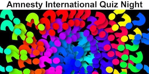 Amnesty International Bournemouth Group Quiz Night
