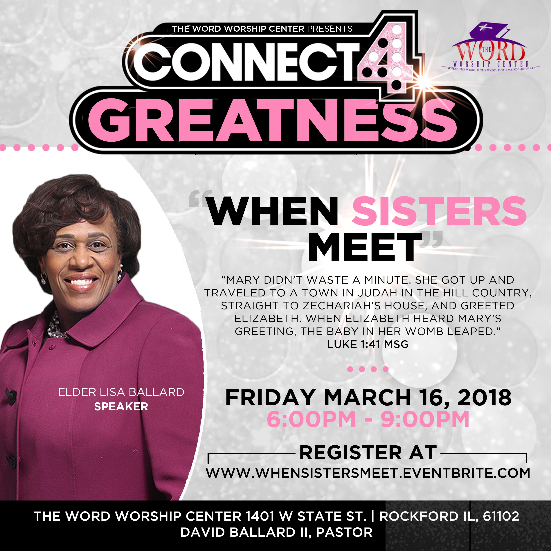 When Sisters Meet 16 Mar 2018