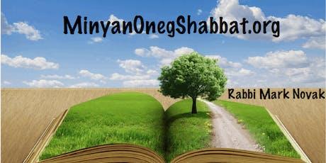 Minyan Oneg Shabbat - A Sanctuary for the Soul tickets