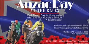 ANZAC Day At The Races