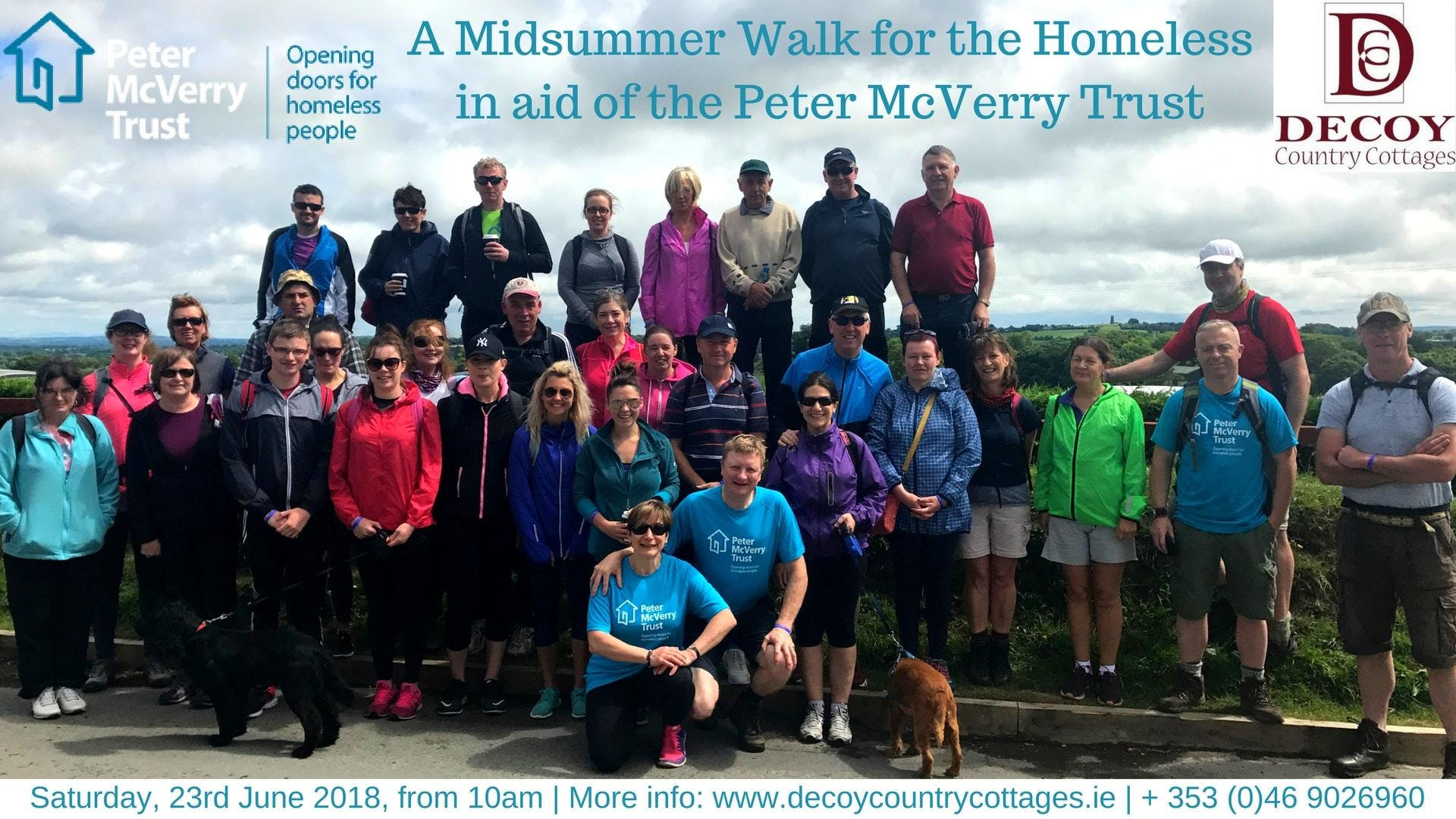 Second Annual Midsummer Walk For The Homeless