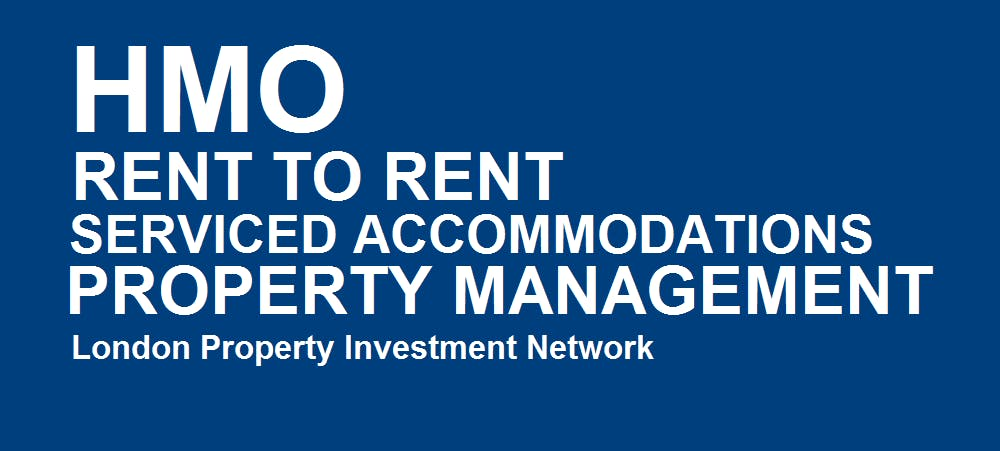 HMO, Rent to Rent & Serviced Accommodations