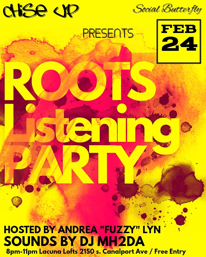 ROOTS LISTENING PARTY