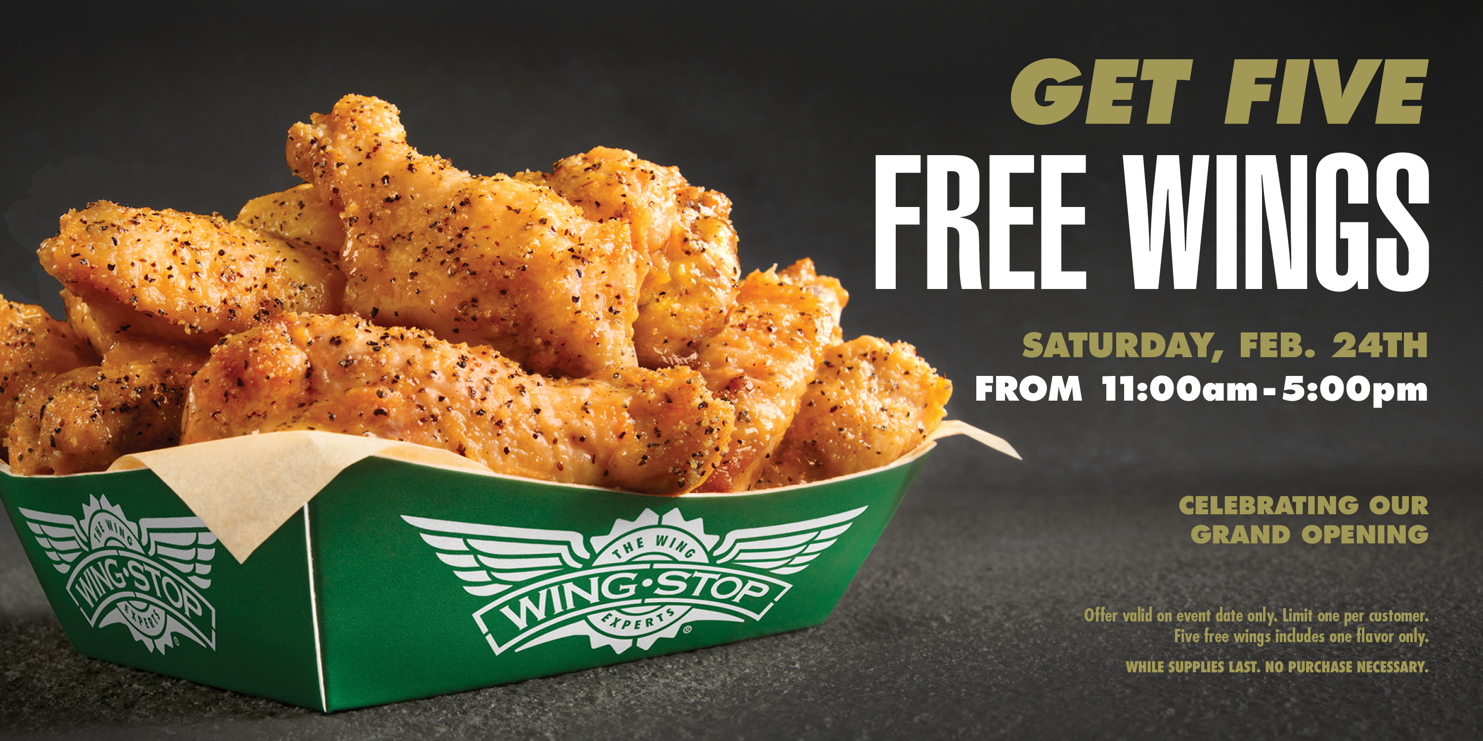 Wingstop West Ashley Grand Opening Event