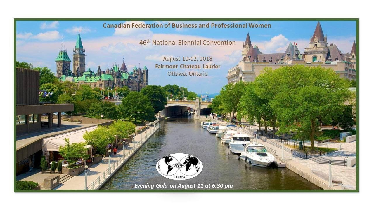 BPW Canada National Convention 2018