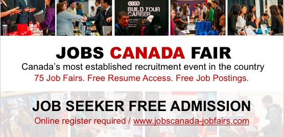 FREE: Mississauga Job Fair - 8 May, 2018