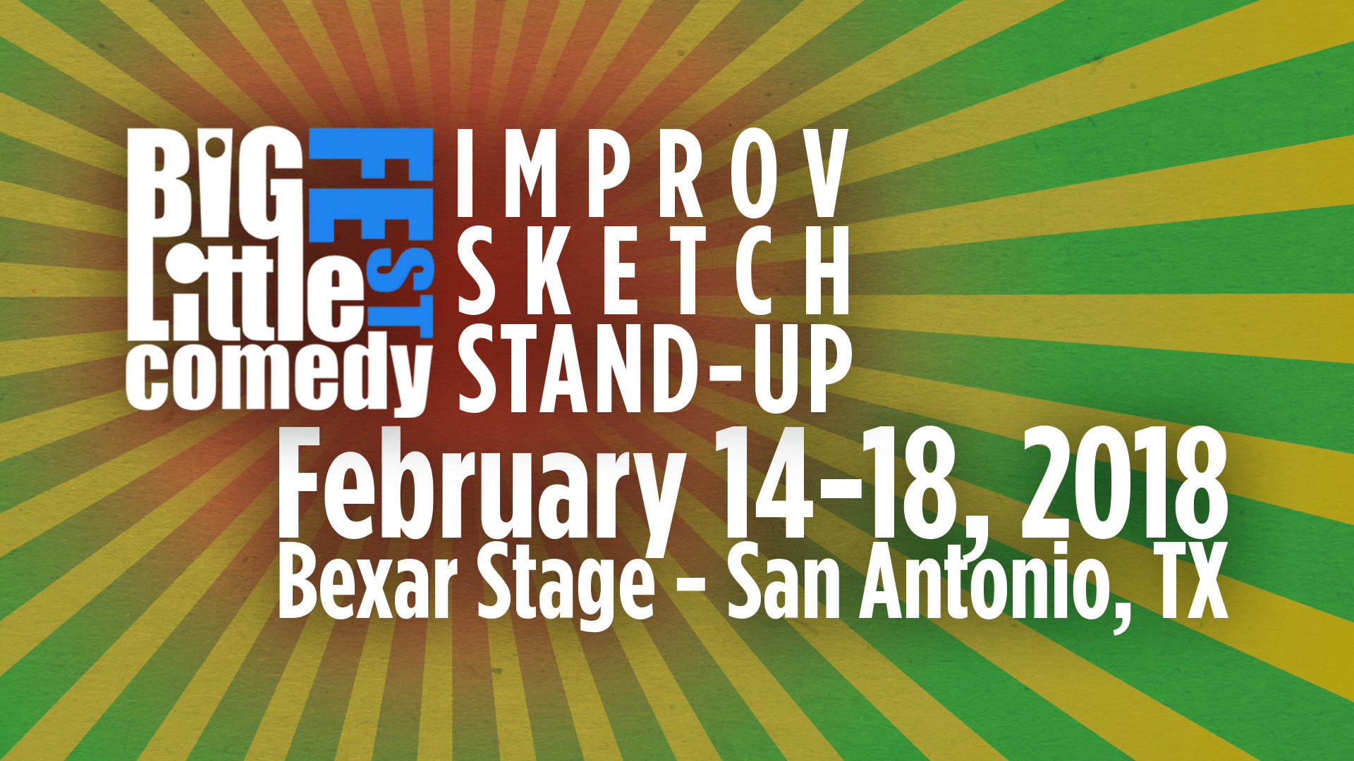 The Big-Little Comedy Fest - The Headliners (