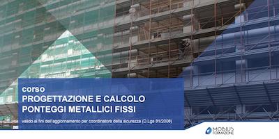 PROGETTAZIONE E CALCOLO PONTEGGI METALLICI FISSI - Gela (CL)