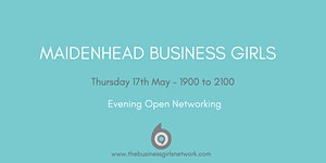 Maidenhead Business Girls Evening Meet-up - Thursday...