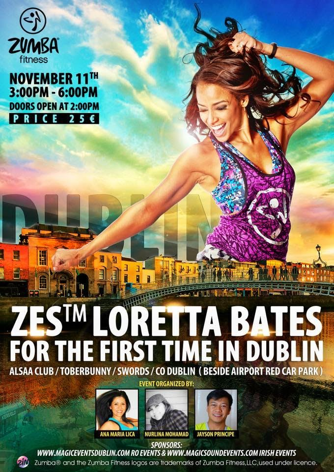 Loretta Bates Master Class for the First time in Dublin