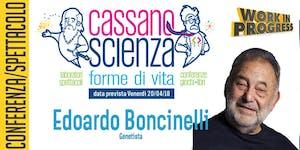 Conferenza - Edoardo Boncinelli