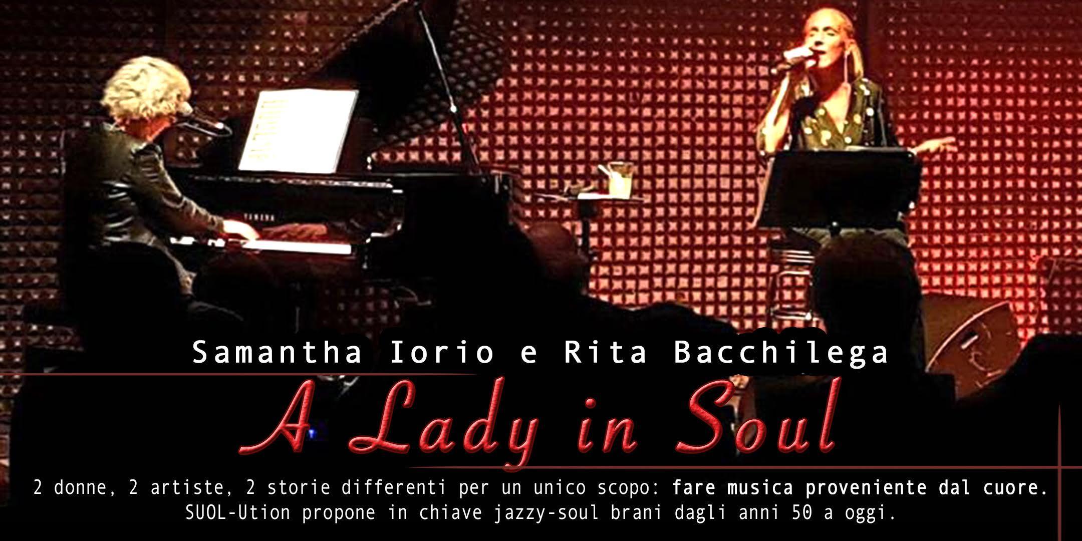 Scuola Di Musica Novate Milanese.A Lady In Soul Un Racconto Musicale 17 Feb 2018