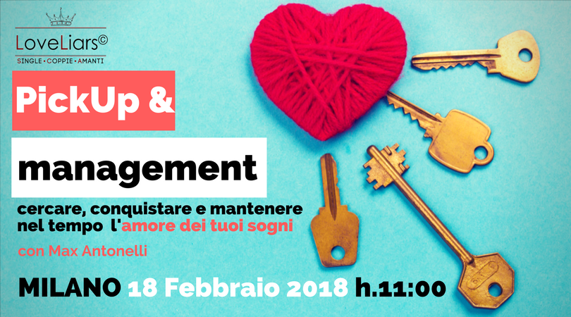 "Seminario ""PICKUP&MANAGEMENT: come cercare, c"