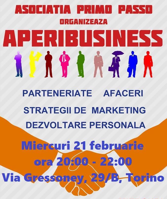 AperiBusiness cu Antreprenorii români din Tor