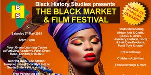 The Black Market & Film Festival - Saturday 5th May...