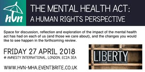 The Mental Health Act: A Human Rights Perspective