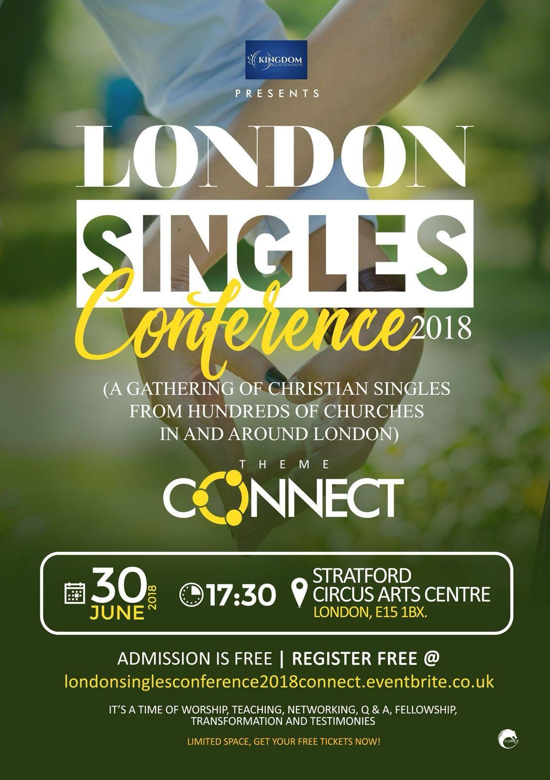 London Singles Conference (Connect 2018)