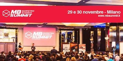 Marketing Business Summit 2018 Milano - SEO, Social Media, Coaching, Business e ADV