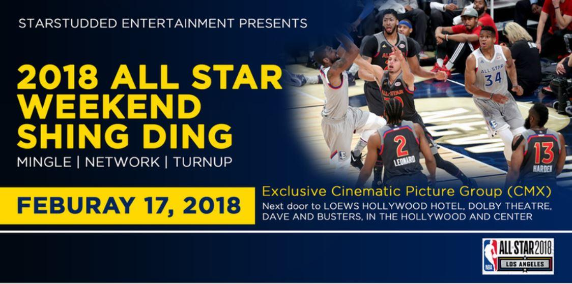 2K18 ALL STAR WEEKEND EXCLUSIVE  ( MINGLE - NETWORK - TURN UP)