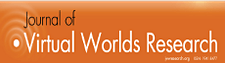 The Journal of Virtual Worlds Research (https://jvwr.net/) logo