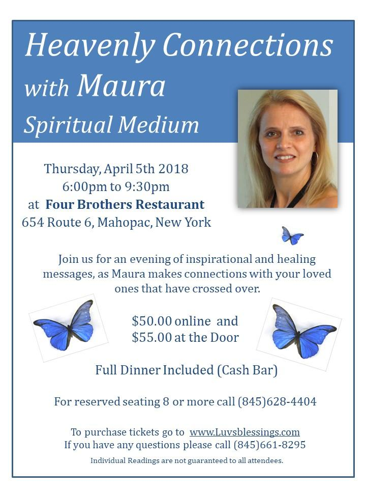 Evening of Heavenly Connections with Maura, S