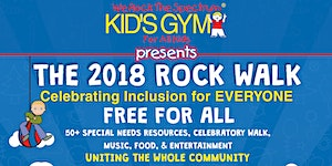 We Rock the Spectrum's 2018 Rock Walk!