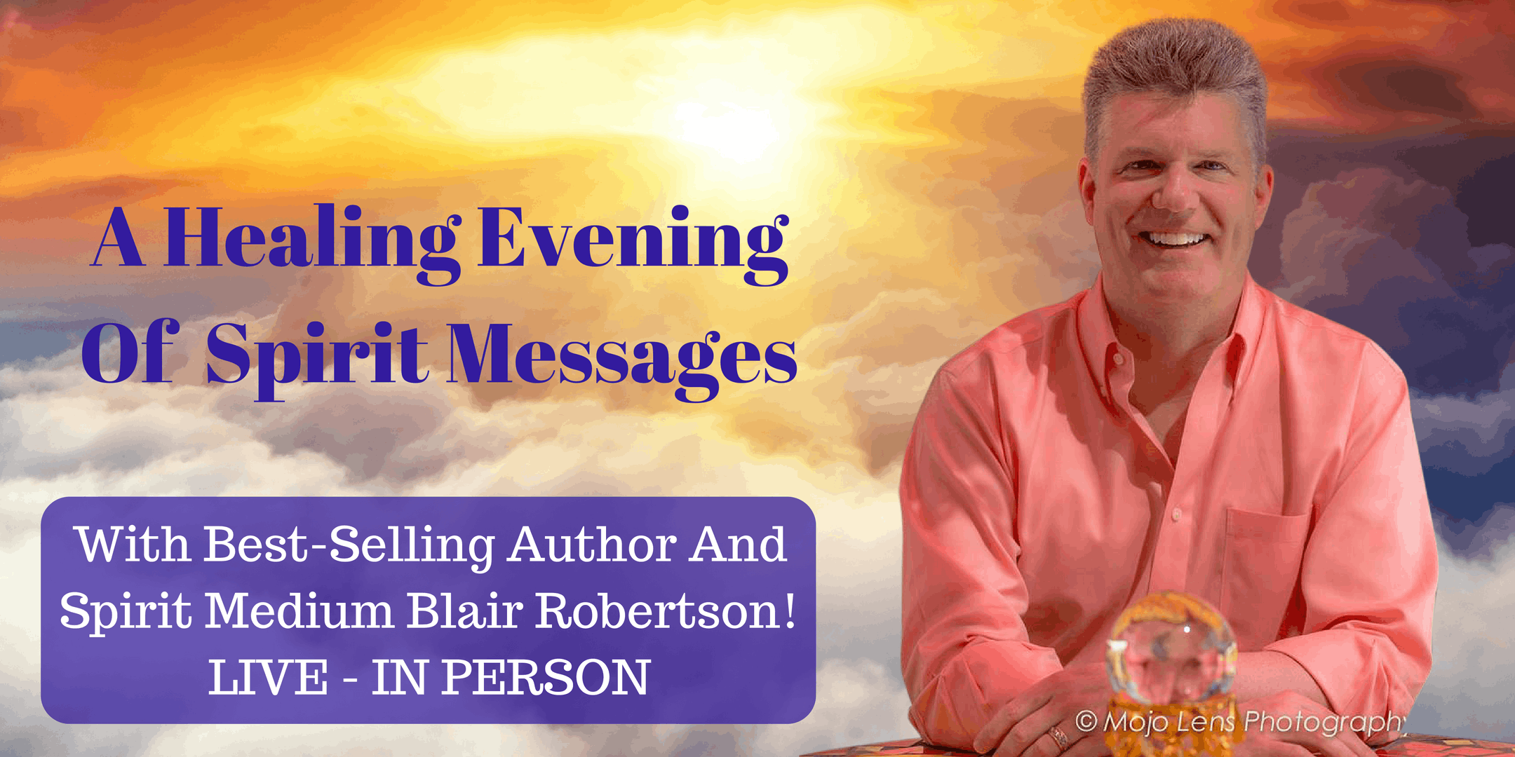 """Evening Of Spirit Connections"" with Blair Ro"