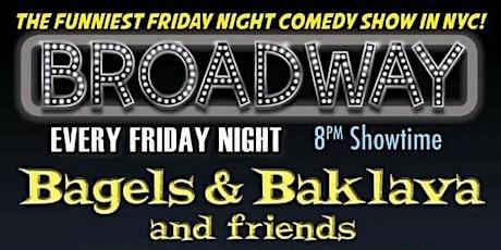 Bagels & Baklava Comedy Show tickets