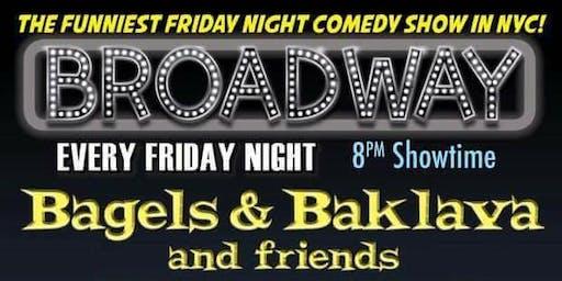Bagels & Baklava Comedy Show