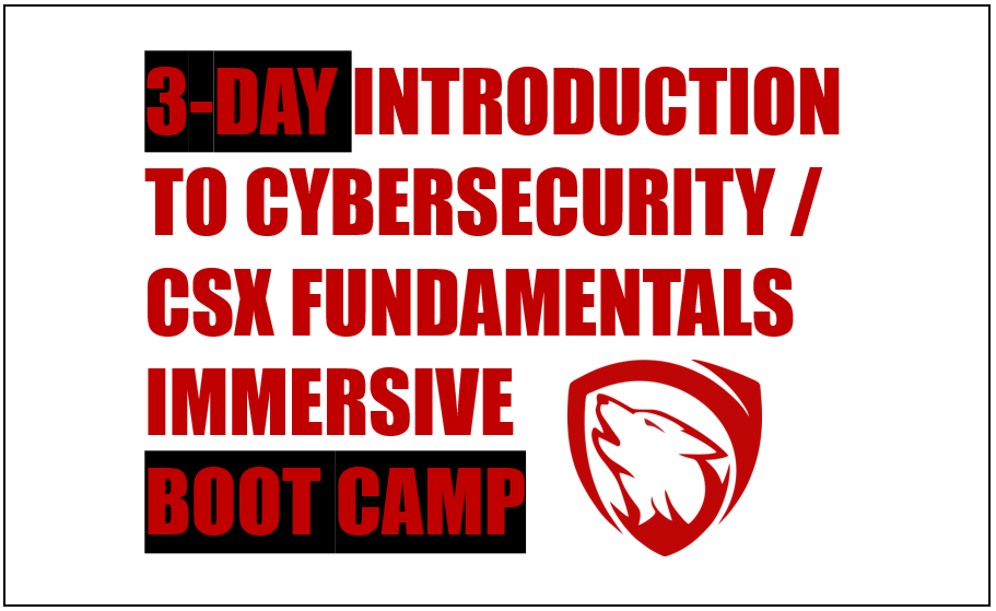 (Dublin) CSI100: Introduction to Cybersecurity / CSX Fundamentals Training Course