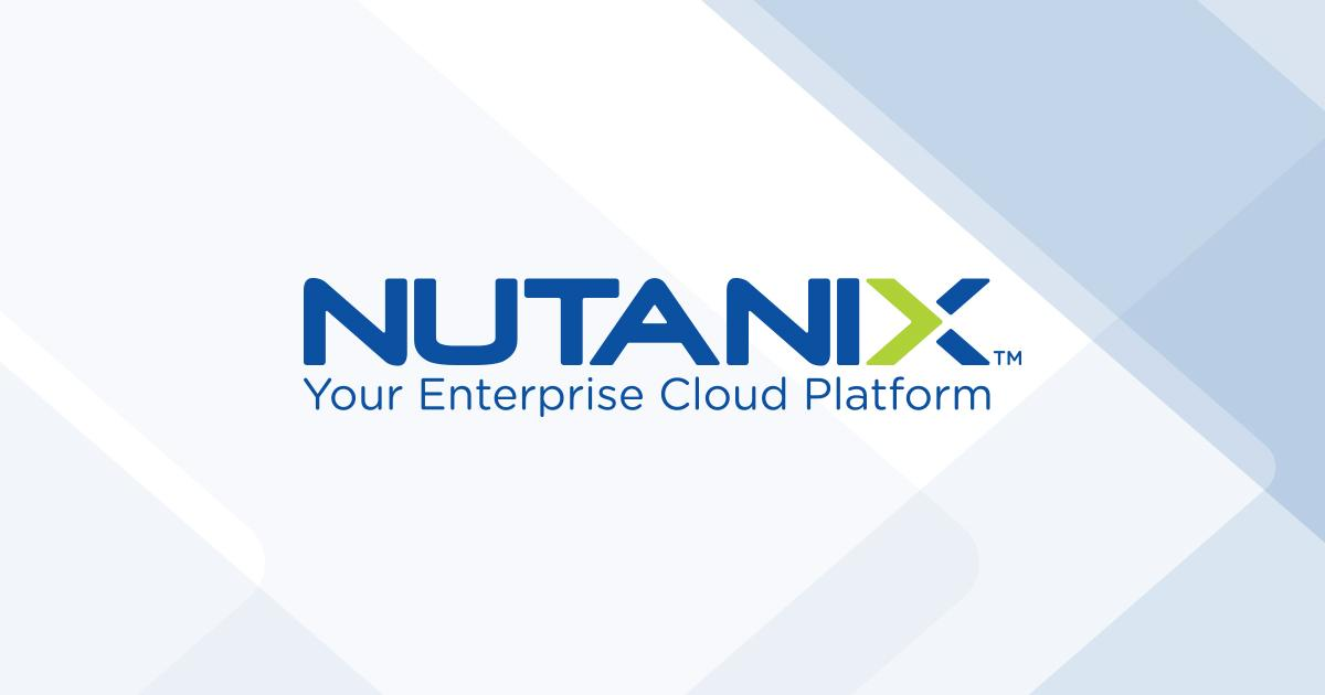 Nutanix Technology Workshop