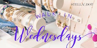 Walk in Wednesdays with Stella&Dot!