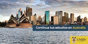 Charla en Barcelona - Continua tus estudios en...