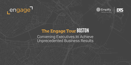 The Engage Tour: Boston tickets