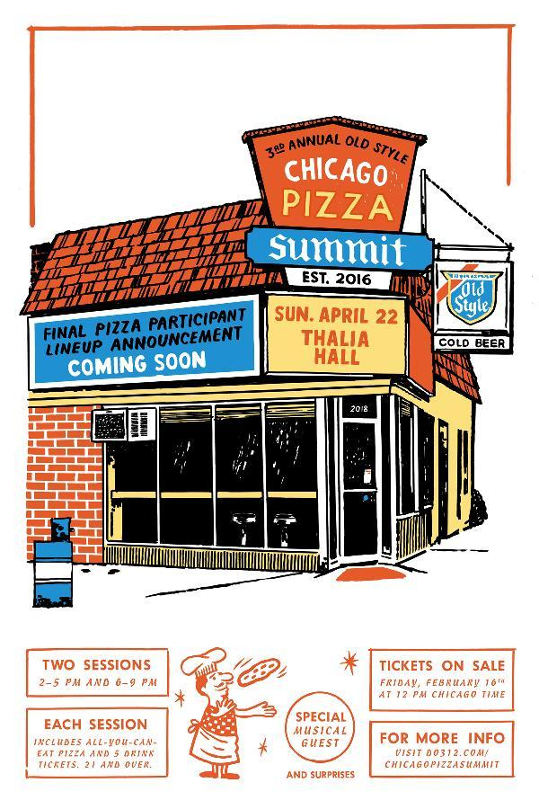 3rd Annual Chicago Pizza Summit presented by Old Style beer in conjunction with Empty Bottle Presents *Session Two*