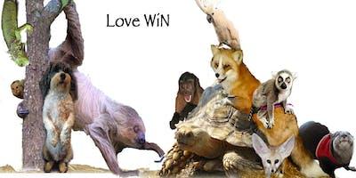 """LOVE WiN""  Exotic Animal Encounters"