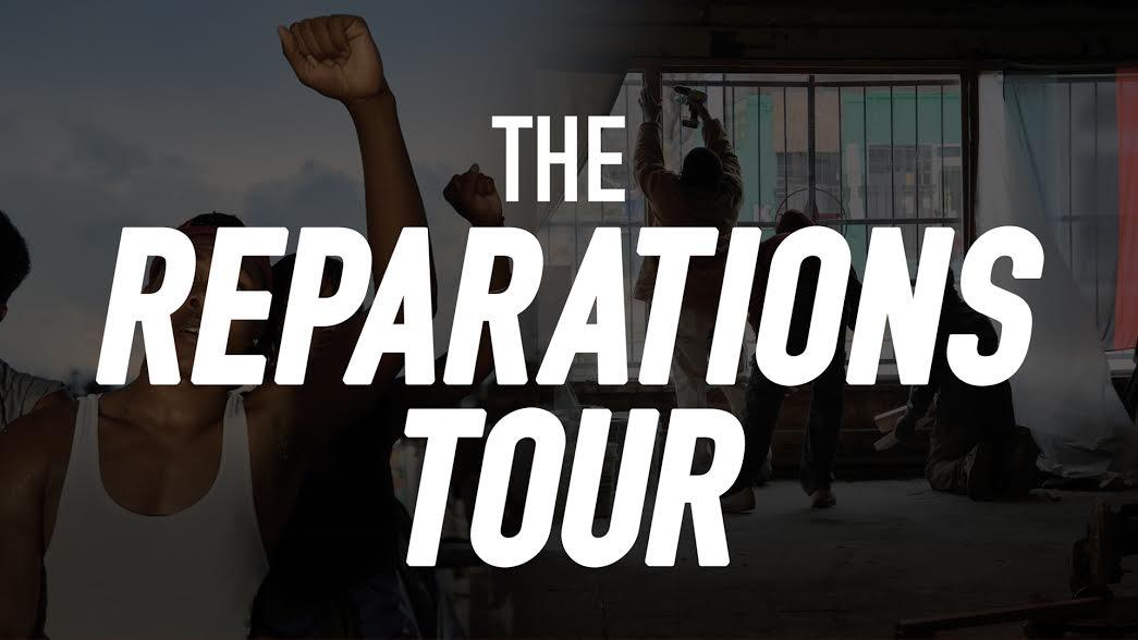The Reparations Tour (Seattle): White Solidar