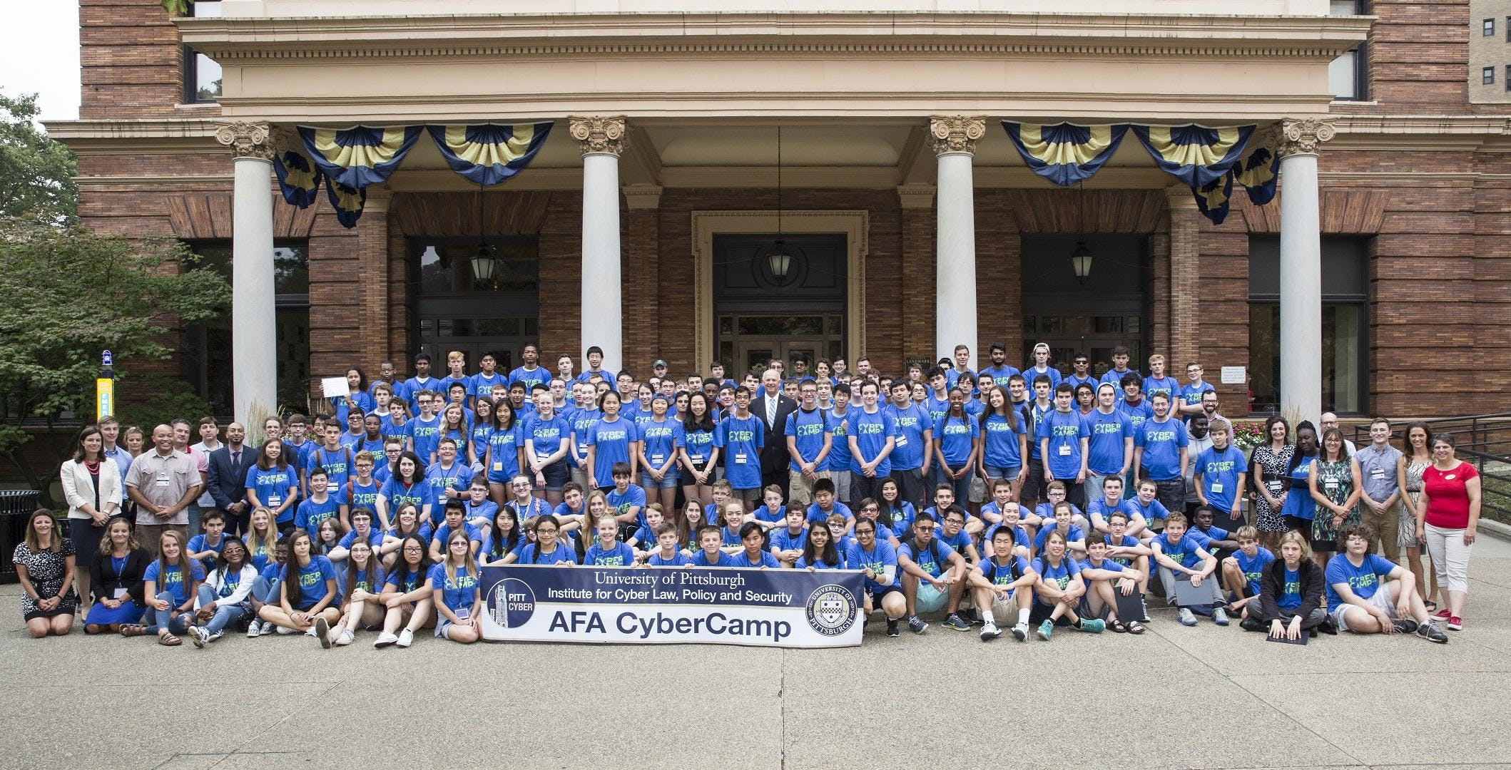 2018 AFA CyberCamp hosted by Pitt Cyber in pa