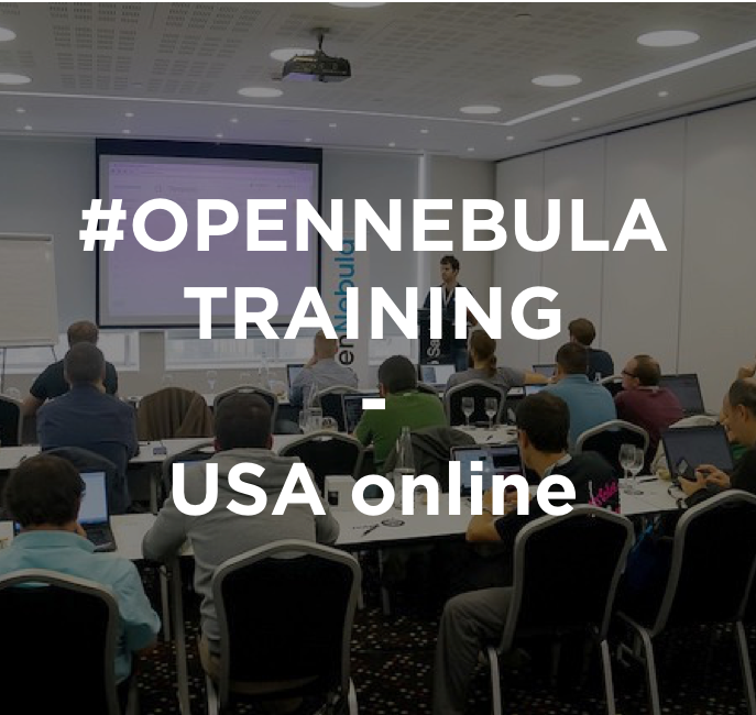 OpenNebula Introductory Tutorial, US Online,