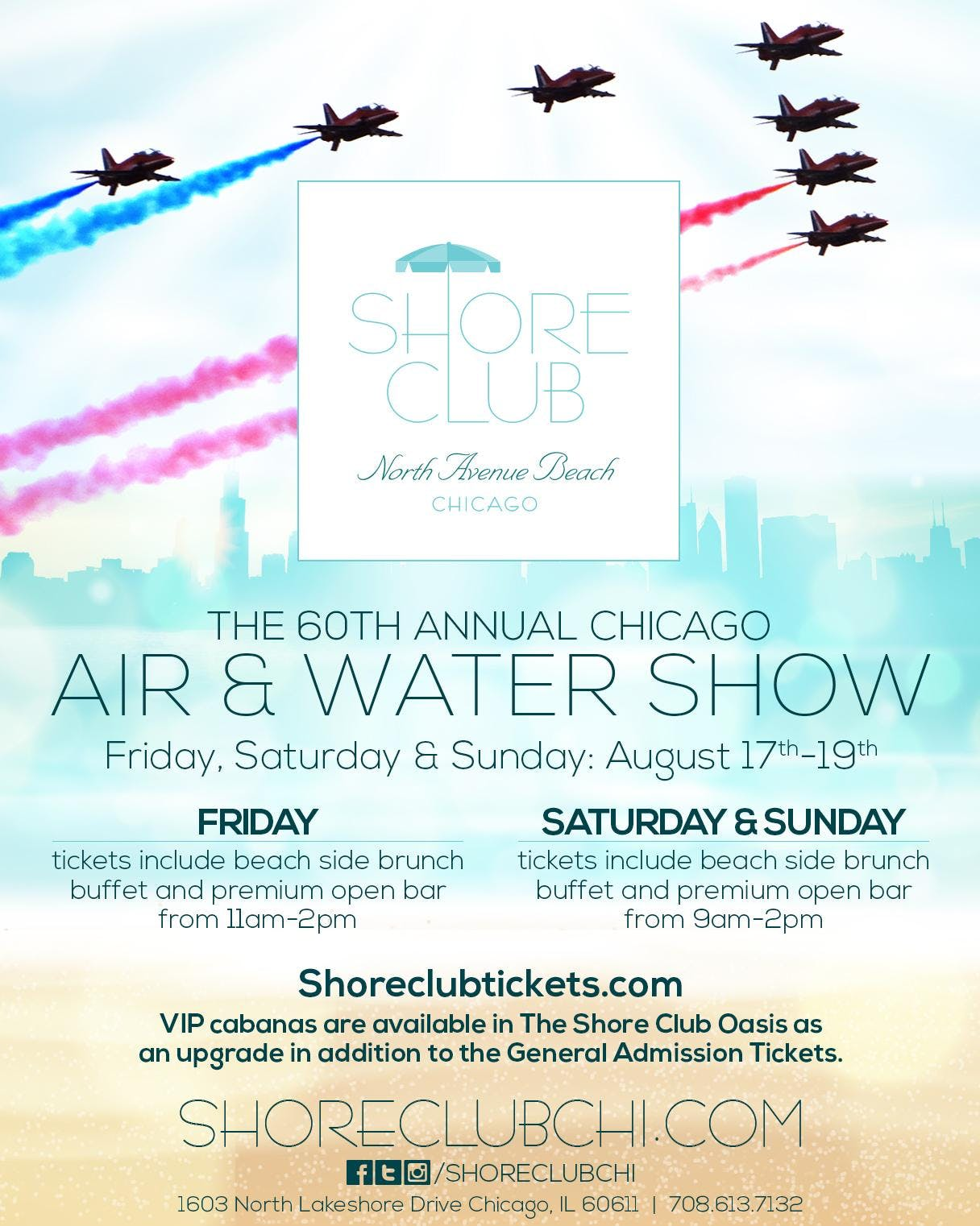 Air & Water Show Saturday 8/18