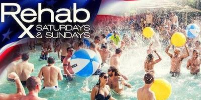 REHAB  Beach Club - Pool Party - 6/23/2018
