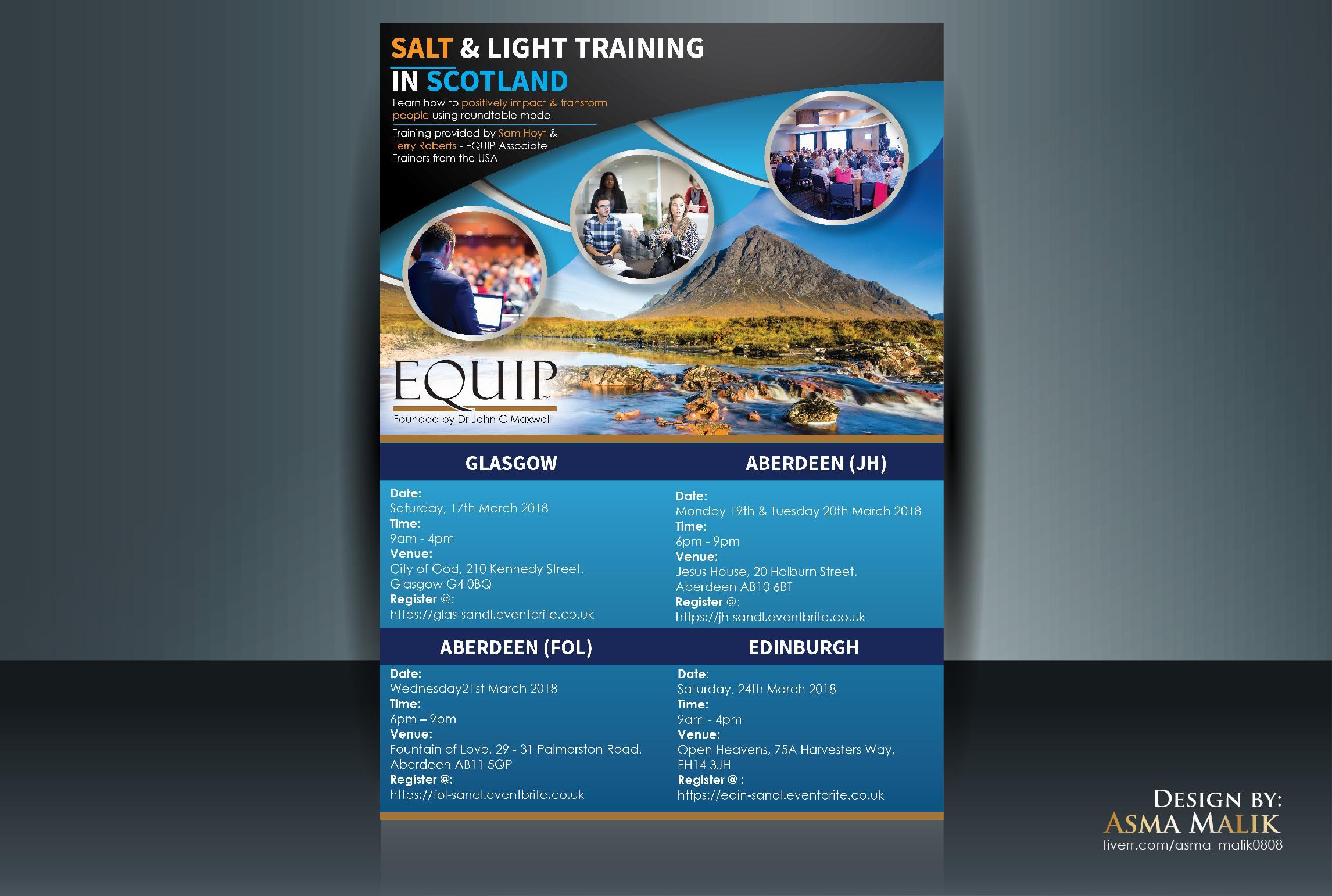 Salt and Light Training - Glasgow