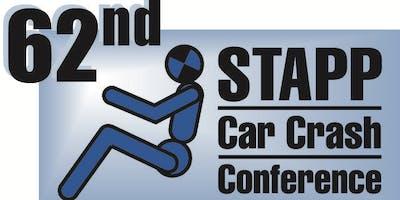62nd Stapp Car Crash Conference - Nov 12-14, 2018