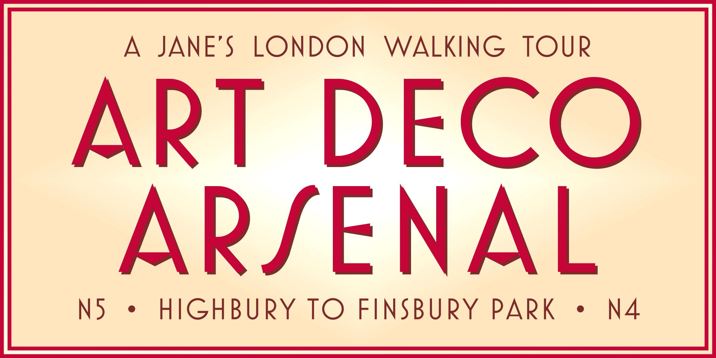 Art Deco Arsenal – a walking tour in North London