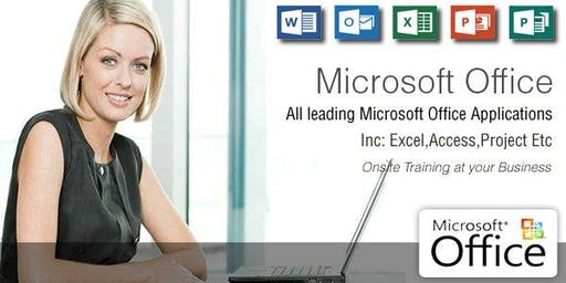 Microsoft Excel Intro Training Course - Limerick