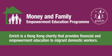 Money and Family - Run in Tagalog/English at Enrich tickets