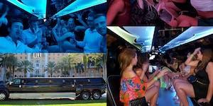Miami VIP nightclub package with drinks & luxury limo