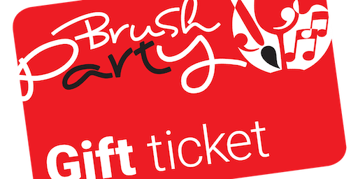 Brush Party Gift Ticket